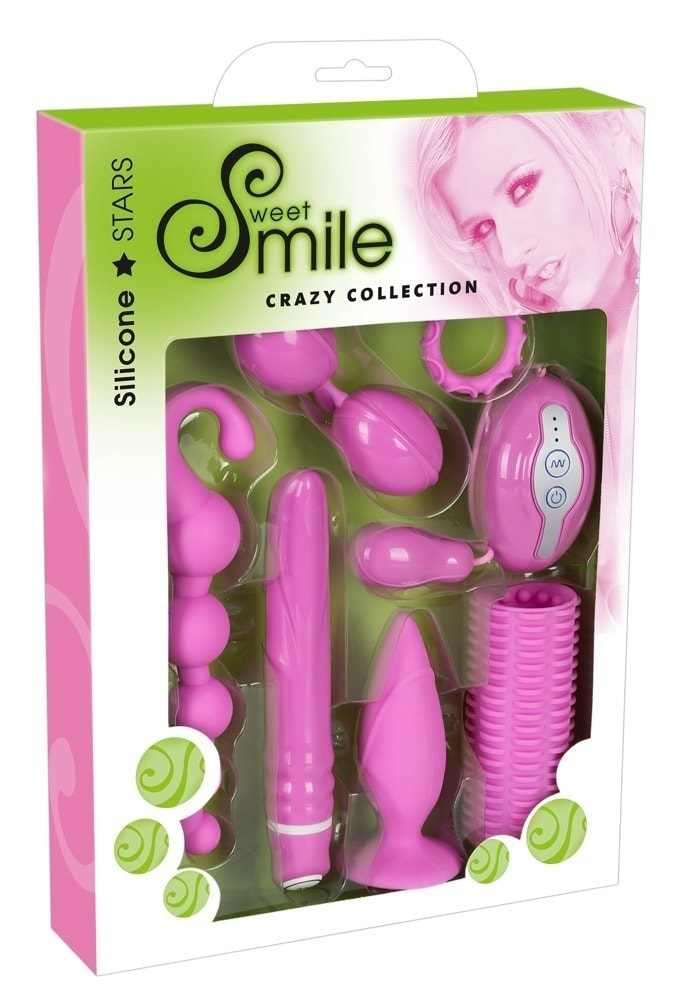 Smile Crazy Collection Sada erotických pomůcek 7 dílů