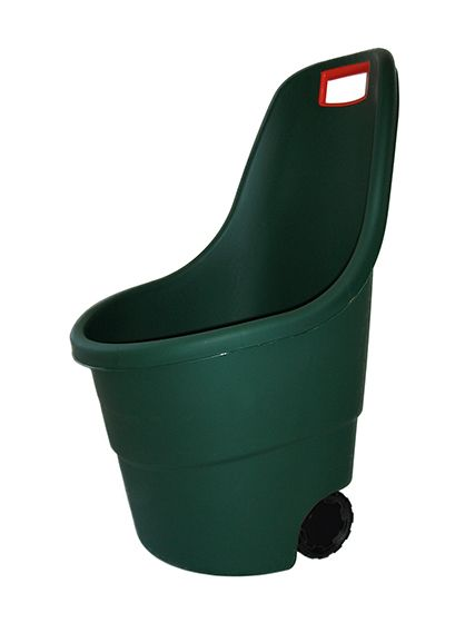 Zahradní plastový vozík EASY GO - 55L zelený