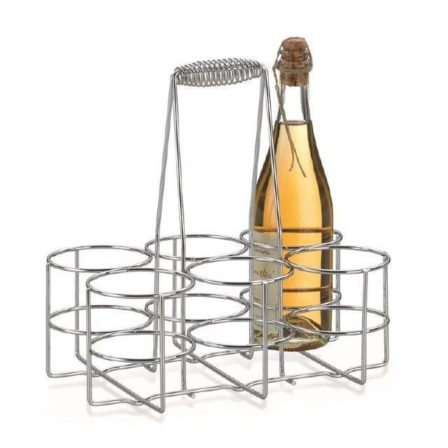 Drátěný nosič na lahve
