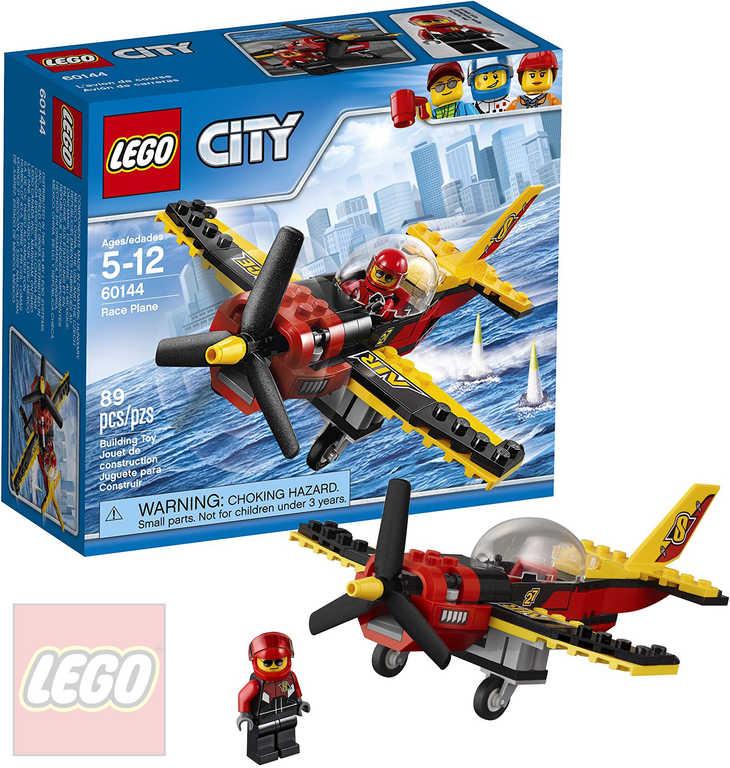 LEGO CITY Závodní letadlo 60144 STAVEBNICE