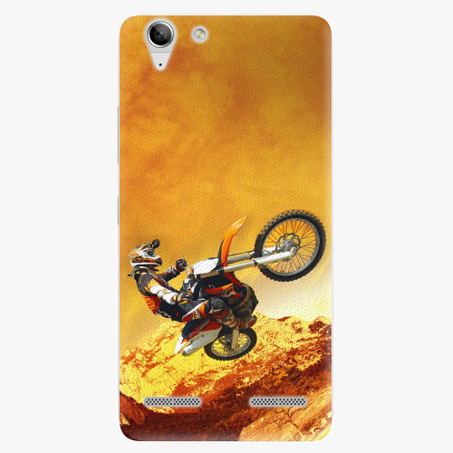 Plastový kryt iSaprio - Motocross - Lenovo Vibe K5