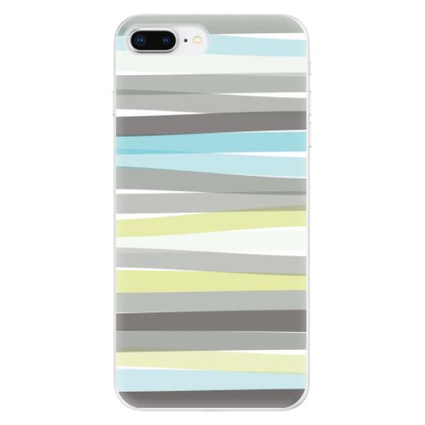 Odolné silikonové pouzdro iSaprio - Stripe - iPhone 8 Plus
