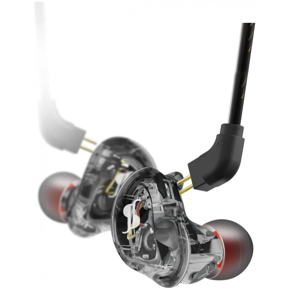 Stagg SPM-235, in-ear sluchátka, černá