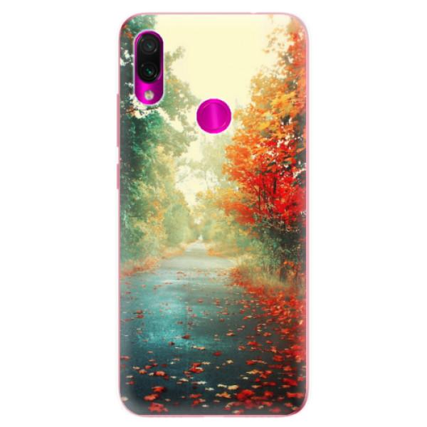 Odolné silikonové pouzdro iSaprio - Autumn 03 - Xiaomi Redmi Note 7