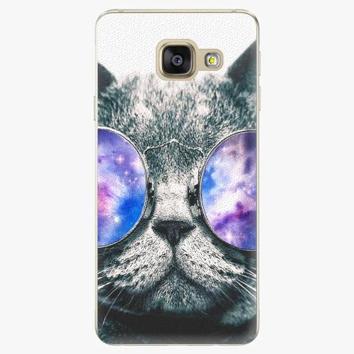 Plastový kryt iSaprio - Galaxy Cat - Samsung Galaxy A3 2016