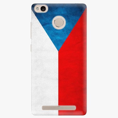 Plastový kryt iSaprio - Czech Flag - Xiaomi Redmi 3S