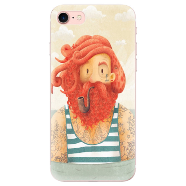 Odolné silikonové pouzdro iSaprio - Sailor - iPhone 7