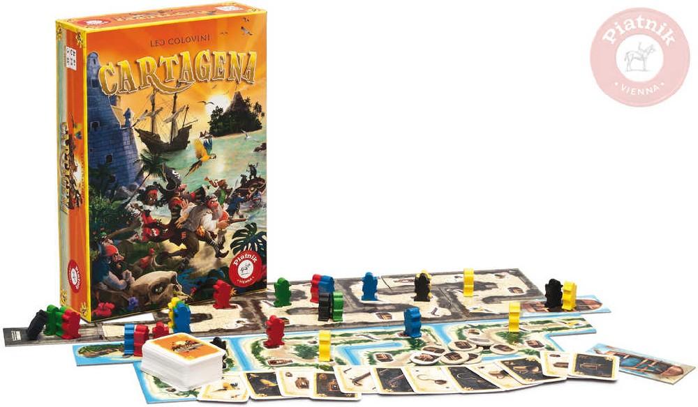 PIATNIK Hra Cartagena *SPOLEČENSKÉ HRY*