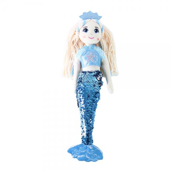 Hadrová panenka mořská panna Ploutvička 45 cm