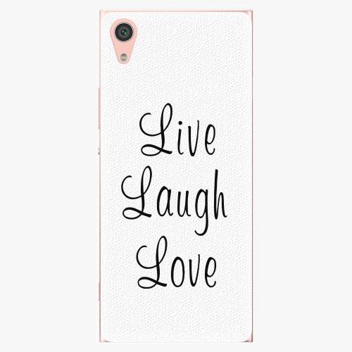 Plastový kryt iSaprio - Live Laugh Love - Sony Xperia XA1