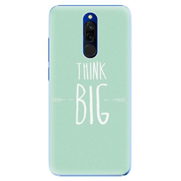 Plastové pouzdro iSaprio - Think Big - Xiaomi Redmi 8