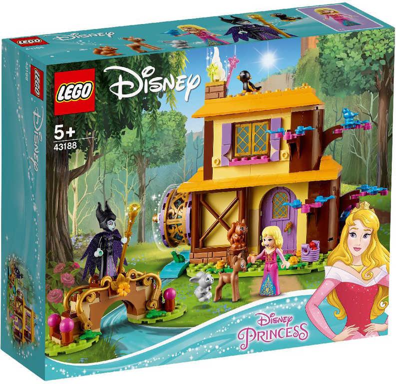 LEGO PRINCESS Šípková Růženka a lesní chaloupka 43188 STAVEBNICE