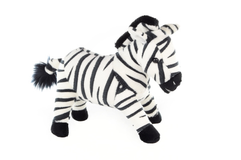 Plyš Zebra