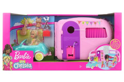 Barbie Chelsea karavan FXG90