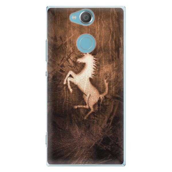 Plastové pouzdro iSaprio - Vintage Horse - Sony Xperia XA2