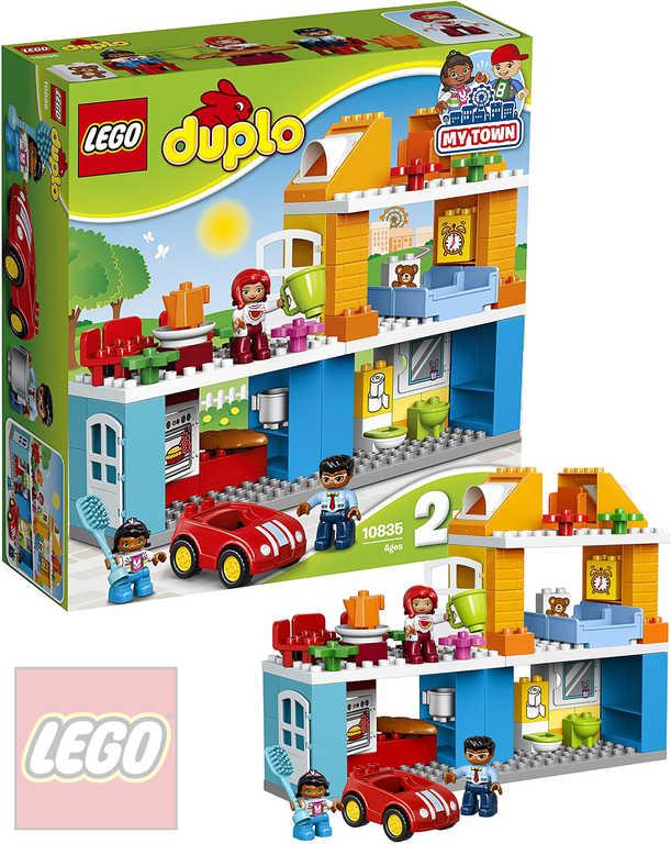 LEGO DUPLO Rodinný dům 10835 STAVEBNICE