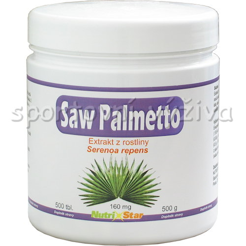 Saw Palmetto 160mg 500 tablet