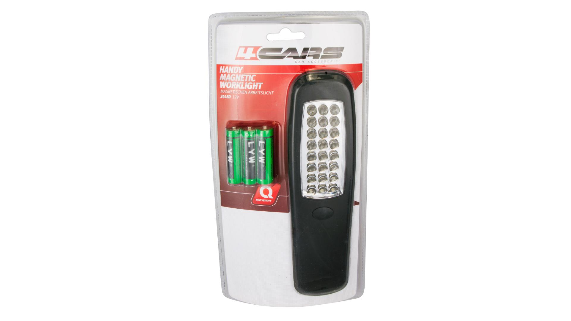 4CARS Pracovní lampa 24 LED handy