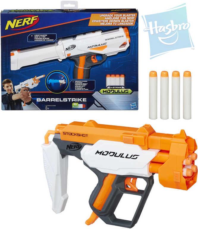 HASBRO NERF Modulus Blaster set zbraň + 4 náboje 2 druhy plast