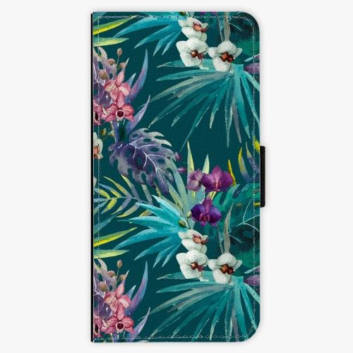Flipové pouzdro iSaprio - Tropical Blue 01 - Samsung Galaxy A3 2017
