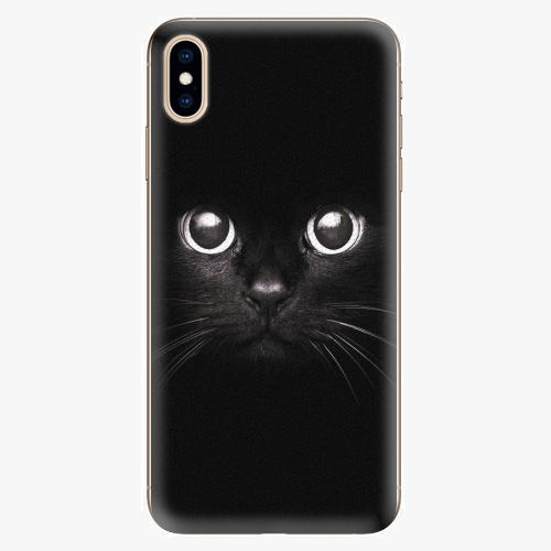 Plastový kryt iSaprio - Black Cat - iPhone XS Max
