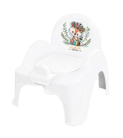 Tega Baby Nočník/židlička Liška - bílý