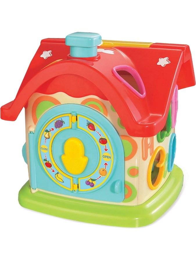 Edukační hračka Baby Mix zábavný domeček - dle obrázku