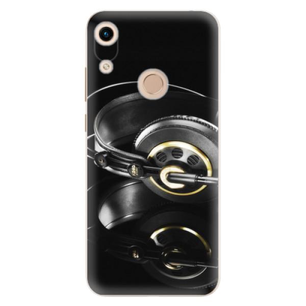 Odolné silikonové pouzdro iSaprio - Headphones 02 - Huawei Honor 8A