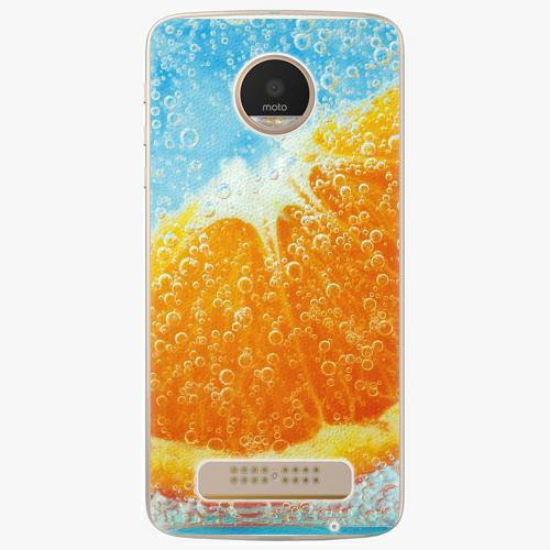 Plastový kryt iSaprio - Orange Water - Lenovo Moto Z Play