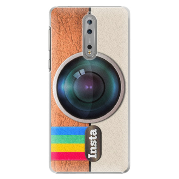 Plastové pouzdro iSaprio - Insta - Nokia 8