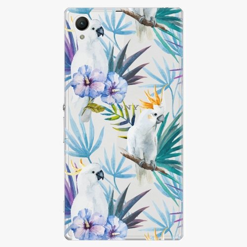 Plastový kryt iSaprio - Parrot Pattern 01 - Sony Xperia Z1 Compact