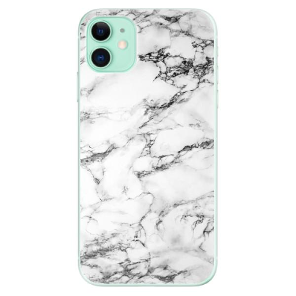 Odolné silikonové pouzdro iSaprio - White Marble 01 - iPhone 11