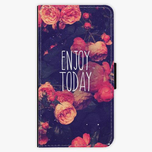 Flipové pouzdro iSaprio - Enjoy Today - iPhone X