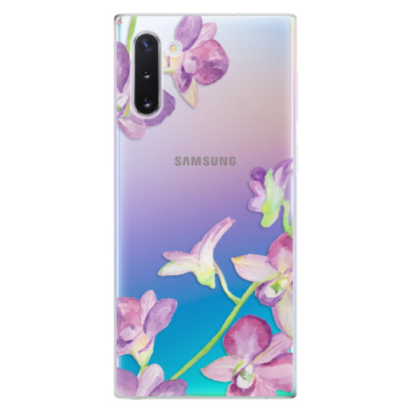 Odolné silikonové pouzdro iSaprio - Purple Orchid - Samsung Galaxy Note 10