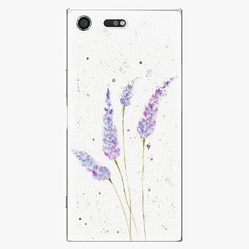 Plastový kryt iSaprio - Lavender - Sony Xperia XZ Premium