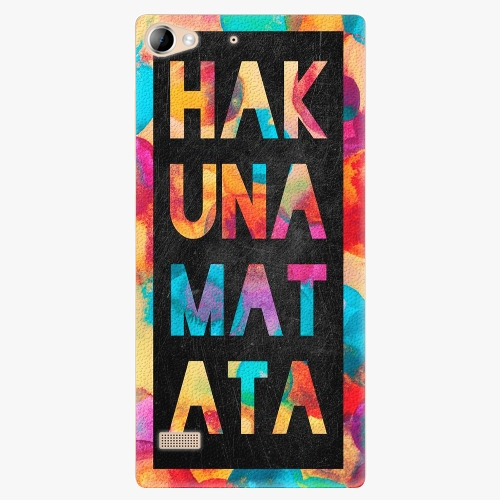 Plastový kryt iSaprio - Hakuna Matata 01 - Lenovo Vibe X2