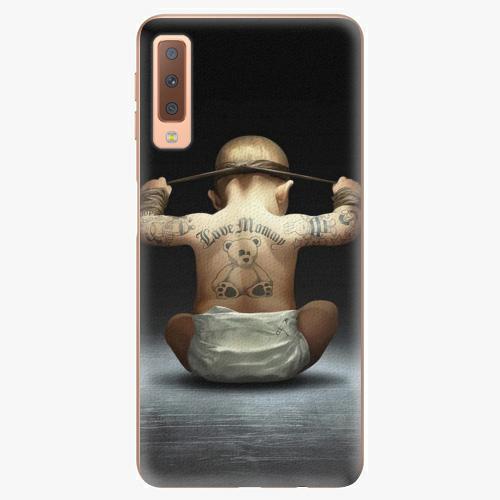 Plastový kryt iSaprio - Crazy Baby - Samsung Galaxy A7 (2018)