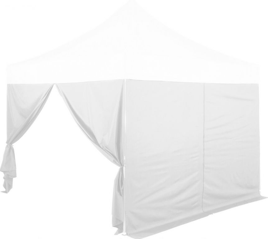 Sada 2 bočních stěn na stany INSTENT PRO 3 x 2 m - bílá