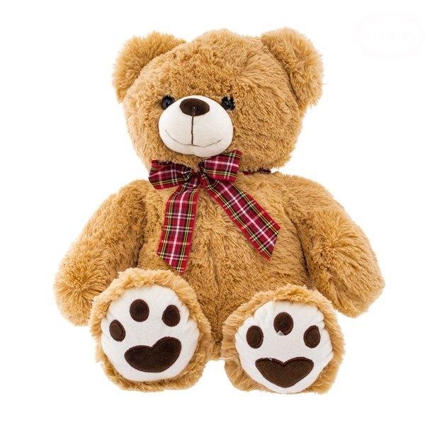 Plyšový medvídek 50cm - sv. hnědý