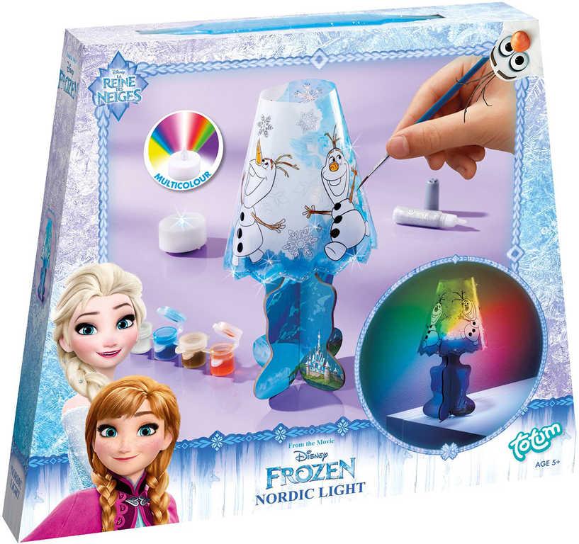 Vytvoř si lampičku LED Frozen (Ledové Království) kreativní set duhové Světlo