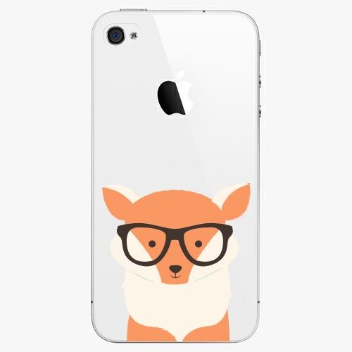 Plastový kryt iSaprio - Orange Fox - iPhone 4/4S