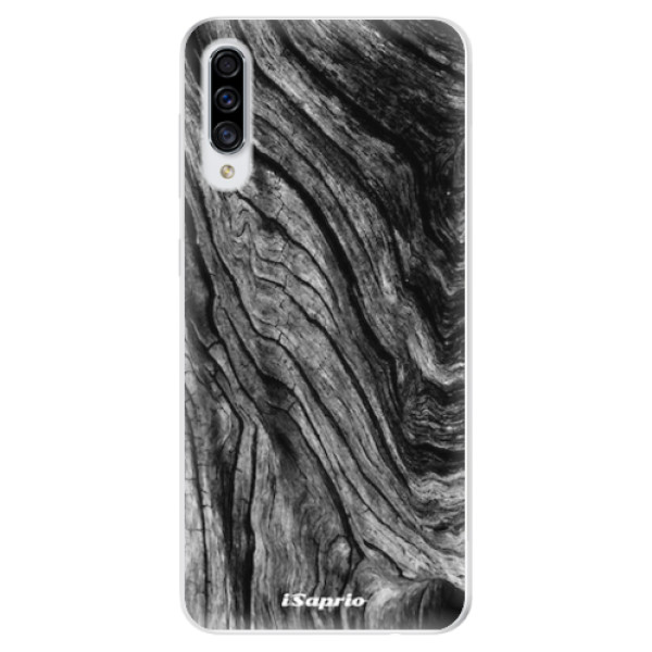 Odolné silikonové pouzdro iSaprio - Burned Wood - Samsung Galaxy A30s