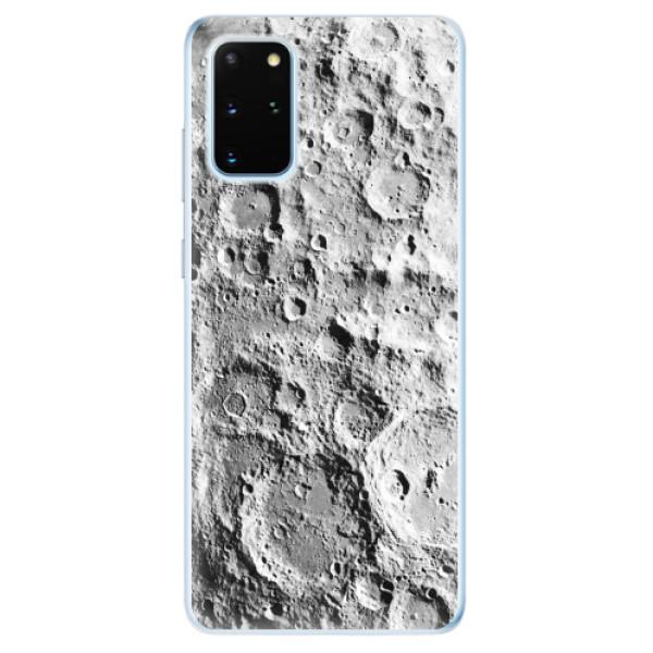 Odolné silikonové pouzdro iSaprio - Moon Surface - Samsung Galaxy S20+