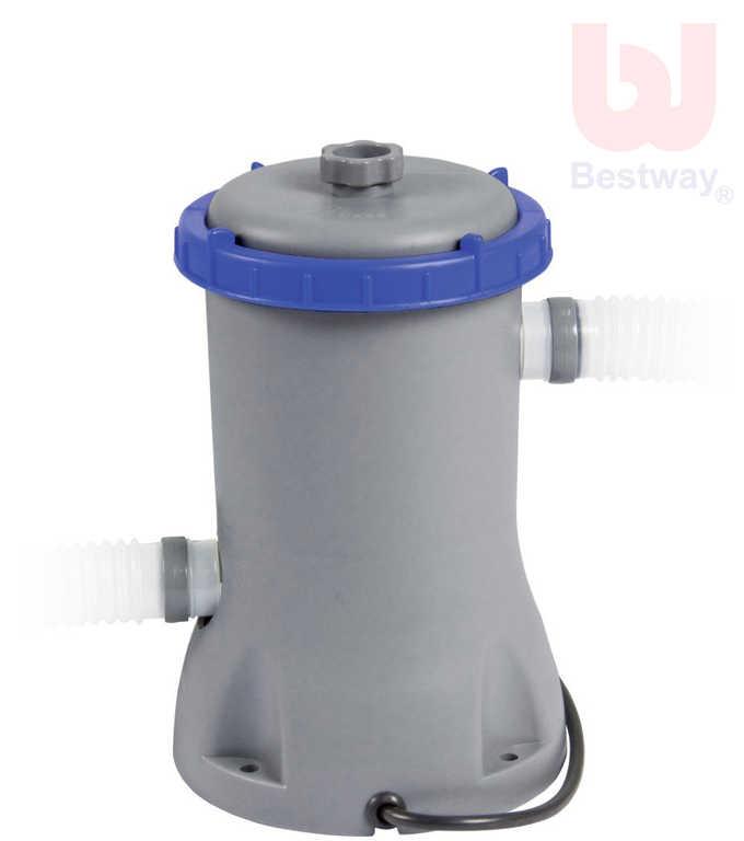 BESTWAY Filtr elektrický k bazénům do 366cm kartušová filtrace 58383
