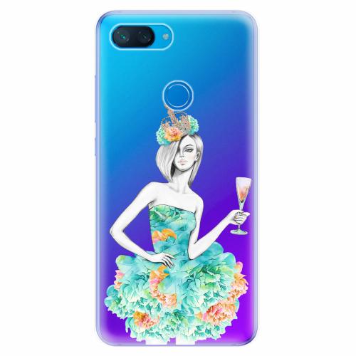 Silikonové pouzdro iSaprio - Queen of Parties - Xiaomi Mi 8 Lite