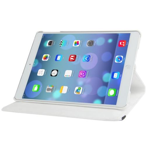 Kožený kryt / pouzdro Smart Cover Rotation pro iPad Air bílý