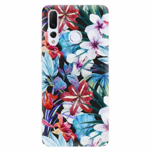 Silikonové pouzdro iSaprio - Tropical Flowers 05 - Huawei Nova 4
