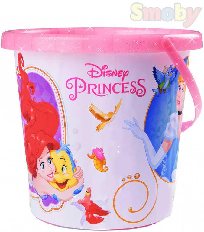 SMOBY Baby kyblík Disney Princezny střední holčičí na písek