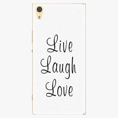 Plastový kryt iSaprio - Live Laugh Love - Sony Xperia XA1 Ultra