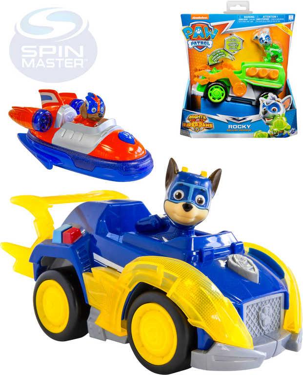 SPIN MASTER Tlapková Patrola Super vozidlo set s figurkou na baterie Světlo Zvuk